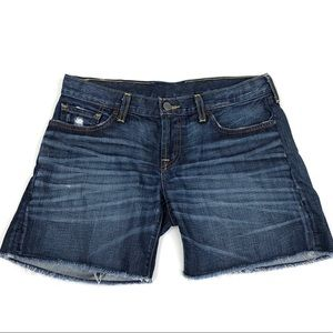 Lucky Brand Distressed Cut Off Jean Shorts